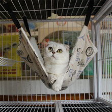 Nice&Warm Cat Bed Pet Hammock For Pet Cat Rest & Cat House Soft And Comfortable Cat Ferret Cage