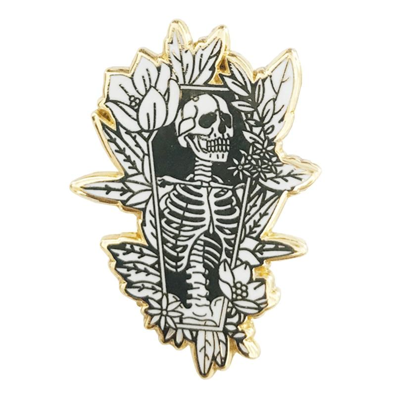 Coffin Pin