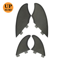 Плавник для серфинга fcs quad fins набор плавники килевые/GX черные quillas twin fins маленькие аксессуары для серфинга