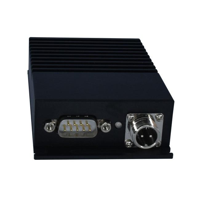 Rs232 rs485 אלחוטי משדר 144mhz 230MHz vhf מודול 433mhz 5W ארוך מרחק 12km רדיו מודם עבור העברת נתונים