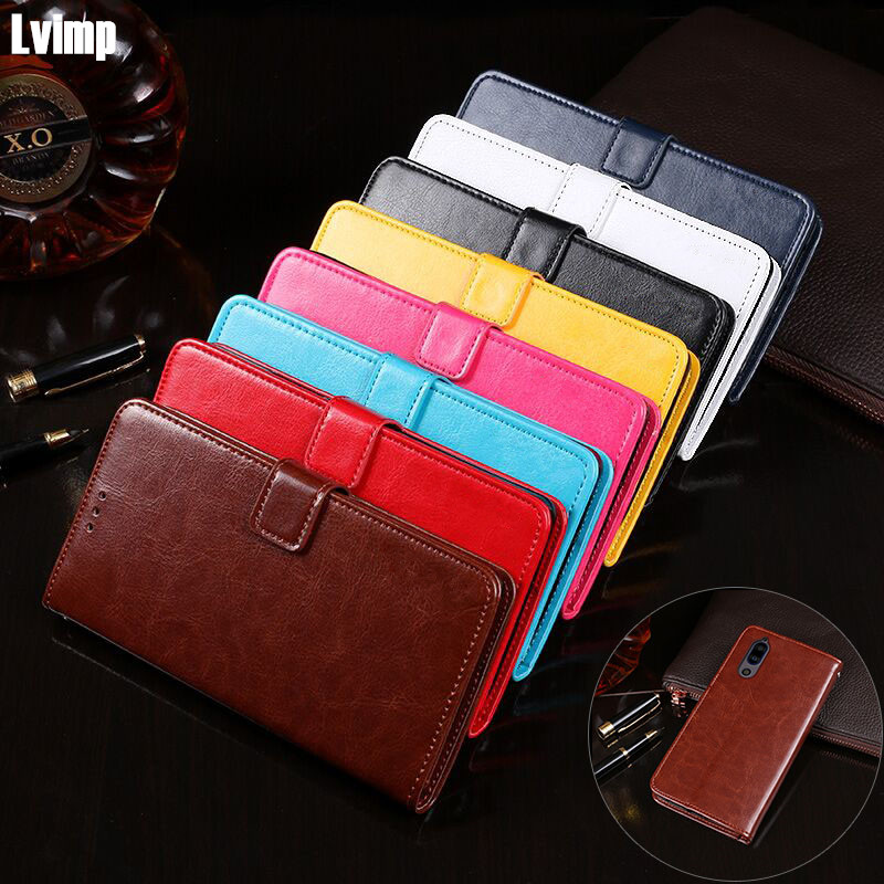 For SHARP Aquos S2 Case 5.5 Luxury PU Leather Case For Sharp Aquos S2 AQUS2 Wallet Cover Book Style Protection Back Cover