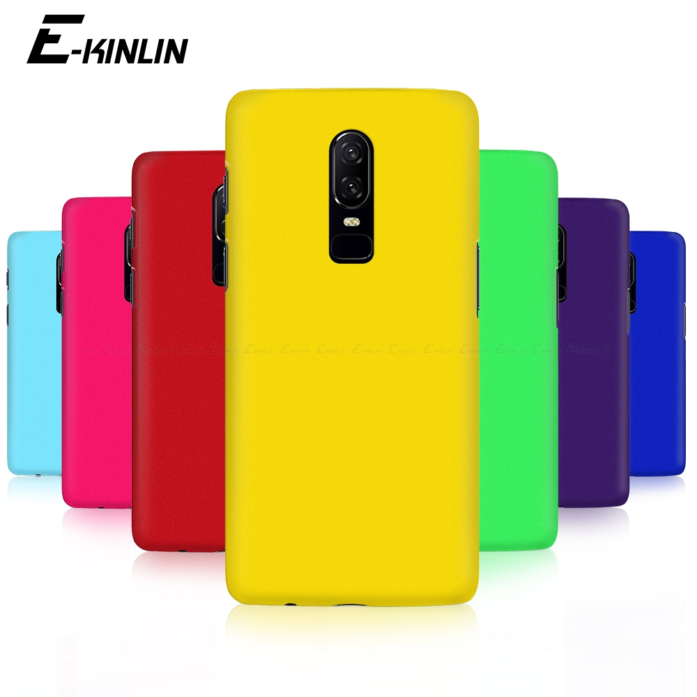 Hard PC Matte Phone Case Ultra Thin Slim Plastic Back Cover For One Plus <font><b>OnePlus</b></font> 7 7T Pro 5G 6T 6 5T 5 3T 3 T A6010 <font><b>A6000</b></font> A5010 image