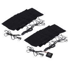 8 in 1 Heating Pad Electric USB Jackets Clothes Heating Pad