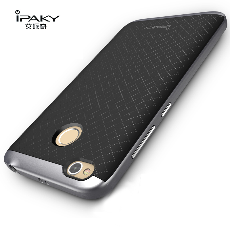100% оригинал бренда iPaky чехол высокого качества для Xiaomi redmi 4X (5,0 '') силиконовый защитный чехол PC Рамка для redmi 4X