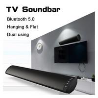 YINEW Bluetooth 5,0 FM Беспроводная колонка динамик 20 Вт домашний кинотеатр Колонка объемная звуковая система стерео настенный динамик