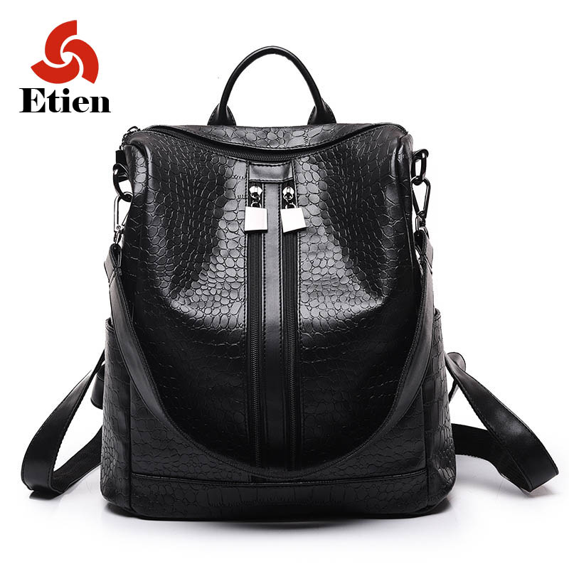 ФОТО Hot sell backpack Women's Shoulder Bags Casual Daypacks Preppy style New Travel Backpack Weaving women zipper high quality bags