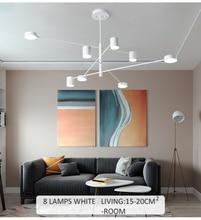 Modern lustre Black Gold White Long Led Ceiling Suspended Chandelier Light Lamp for Hall Kitchen Living Room Loft Bedroom