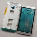 100% Original quadro + quadro médio + botão para HTC One M7 802 W 802 T 802D ( Dual Sim ) substituição