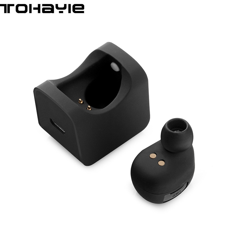 ToHayie C1 Bluetooth Earphone Headset Mini Wireless Ear Buds Portable Headset Hands Free Stereo With Power Bank Bluetooth EarBud newest k1 wireless mini bluetooth earphone handsfree with 900ma power bank in ear headset music stereo single ear headset