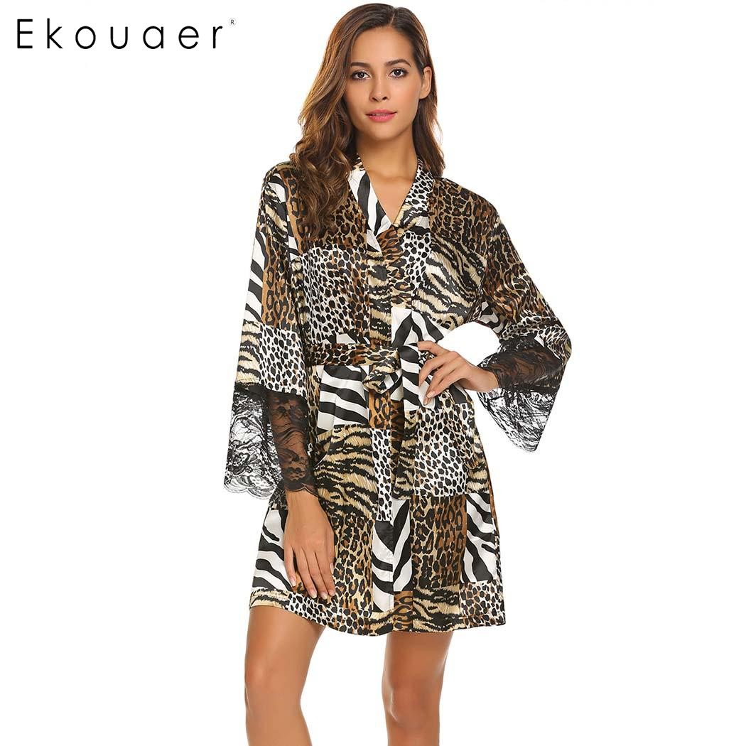 8ce16768ac Buy sexy leopard robe and get free shipping on AliExpress.com
