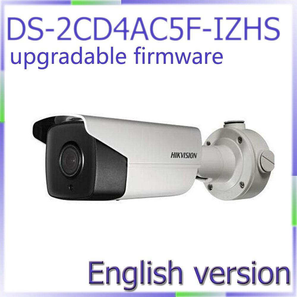 imágenes para Envío libre de DHL versión Inglés DS-2CD4AC5F-IZHS H265 Ip67 CMOS de 1080 p Poe Onvif RJ45 soporte de actualización