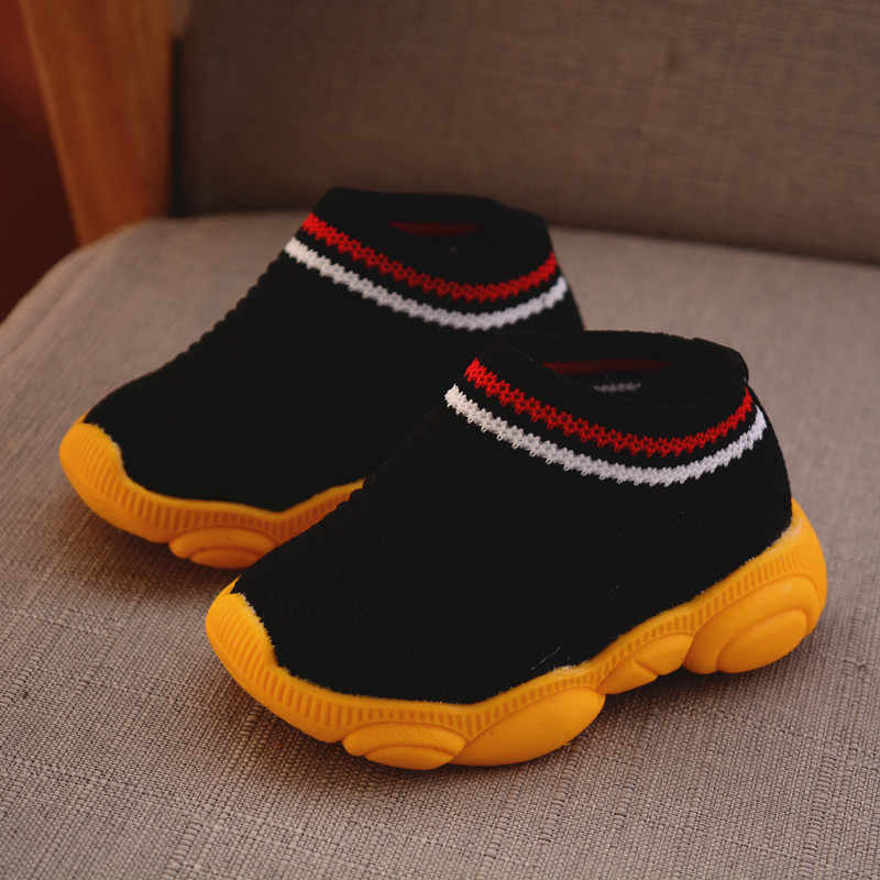 6b463ac7818bb 2019 New Baby Boys Girls Toddler Shoes Infant Sneakers Newborn Soft Bottom  First Walk Non-slip Fashion Kids Sock Sneakers
