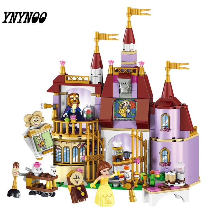 (YNYNOO) 37001 Princess Belles Enchanted Castle Building Blocks For Girl Friends Kids Model Toys  Marvel Compatible tasmanian tiger leader admin pouch
