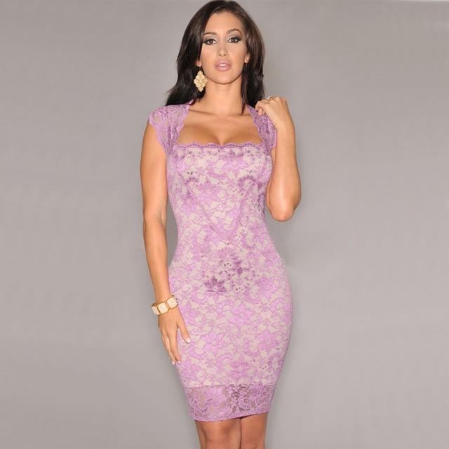 Sexy Bodycon Lace Dress