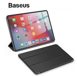 Baseus Smart Folio Case for 12.9 iPad Pro Case 2018 Magnetic Auto Sleep Wake Up Case for Apple iPad 2018 Case for 11 iPad Pro