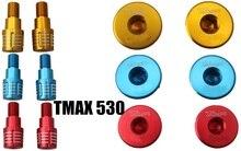 Велосипед TMAX 530 500 TMAX530 Т-MAX530 баланс алюминия ЧПУ руль руль плагин одна пара (три цвета опционально)