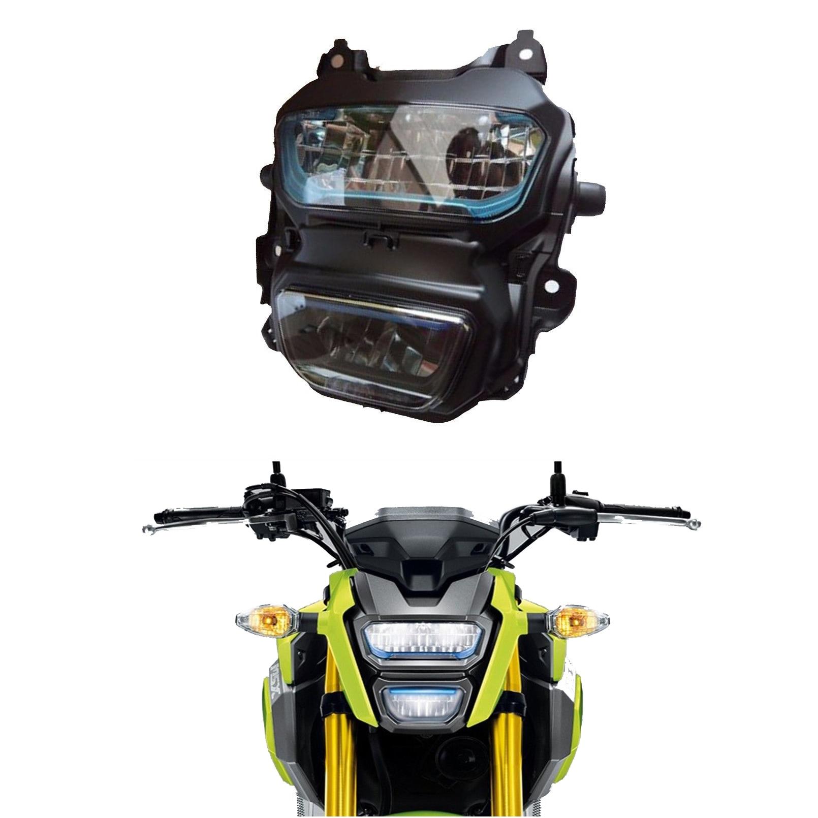 MSX125 Led Headlight Waterproof Front Fork Light Lamp Motorcycle Monkey M3 for Honda Grom 125 MSX125 MSX125SF 2016 2017 2018