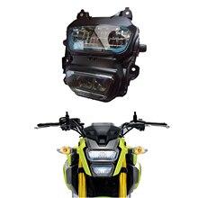 MSX125 светодио дный фар Водонепроницаемый передняя вилка свет лампы мотоцикл обезьяна M3 для Honda гром 125 MSX125 MSX125SF 2016 2017 2018