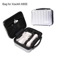 1pcs New Portable Waterproof Hard Plastic Storage Bag Handbag Carrying Case Suitcase for Xiaomi X8SE Drones Accessories