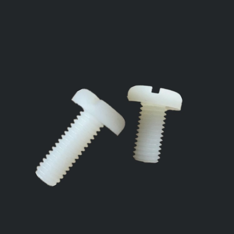 1pcs <font><b>M10</b></font> Environmental green plastic <font><b>screw</b></font> one-word round head <font><b>nylon</b></font> <font><b>screws</b></font> insulated pen head bolt bolts 70mm-120mm image