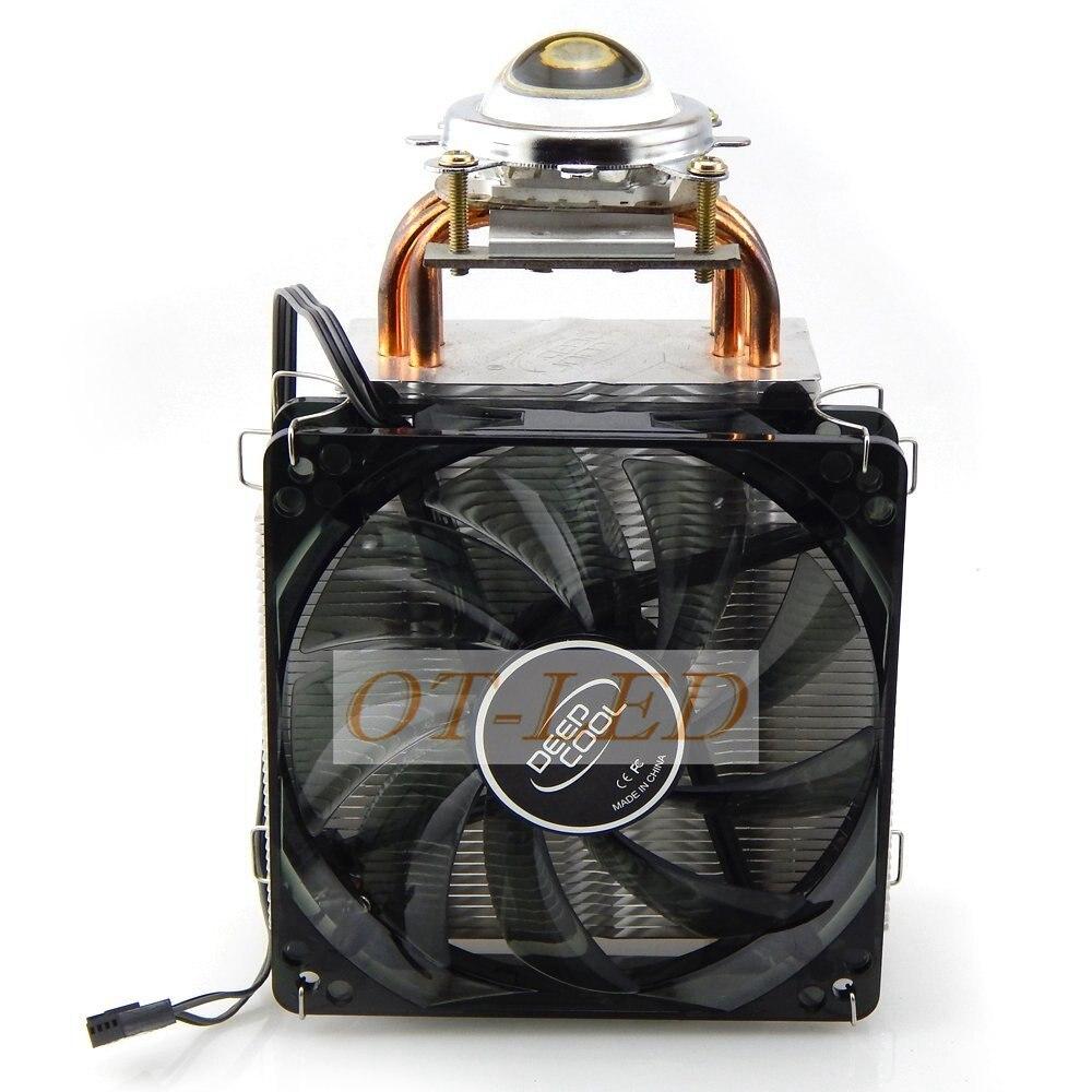 45MM Led Lens Kit + DC12V 100W 150W Led Heatsink Cooling Fans For High Power Spot Lights Automobile Lights Projector Lamps