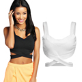 Summer Fashion Slim Vest Sexy Ath Leisure Women Bra Tank Tops Fitness Bandage Tanks & Camis