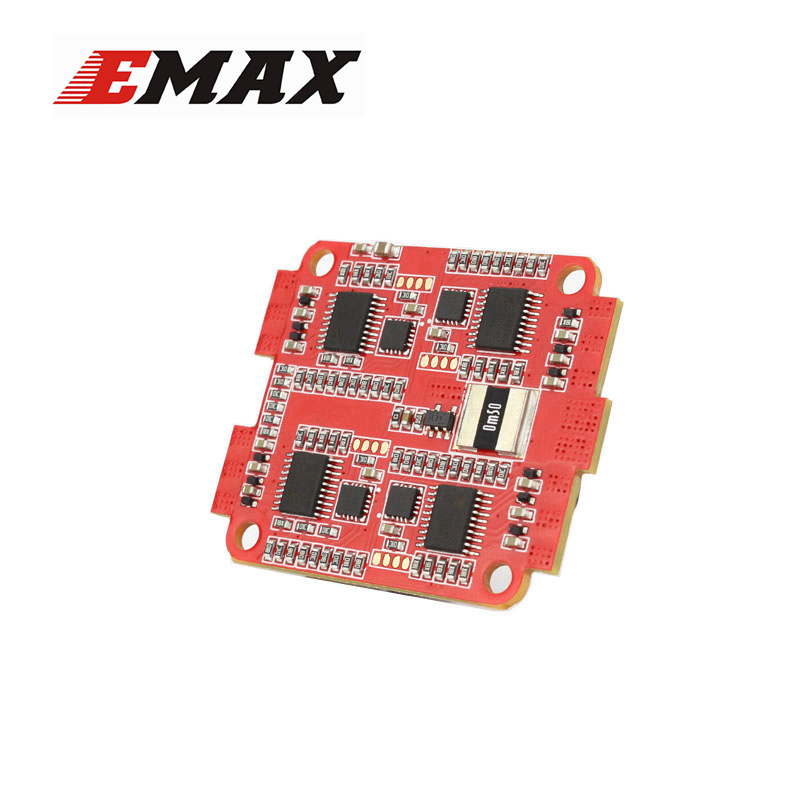 Emax F4 Magnum Tower Parts Bullet 30A 4 in 1 BLHeli_S ESC 2-4S Built-in Current Sensor For RC Multicopter Models Motor Frame original emax f4 magnum all in one fpv stack tower system f4 osd 4 in 1 blheli s 30a esc vtx frsky xm rx