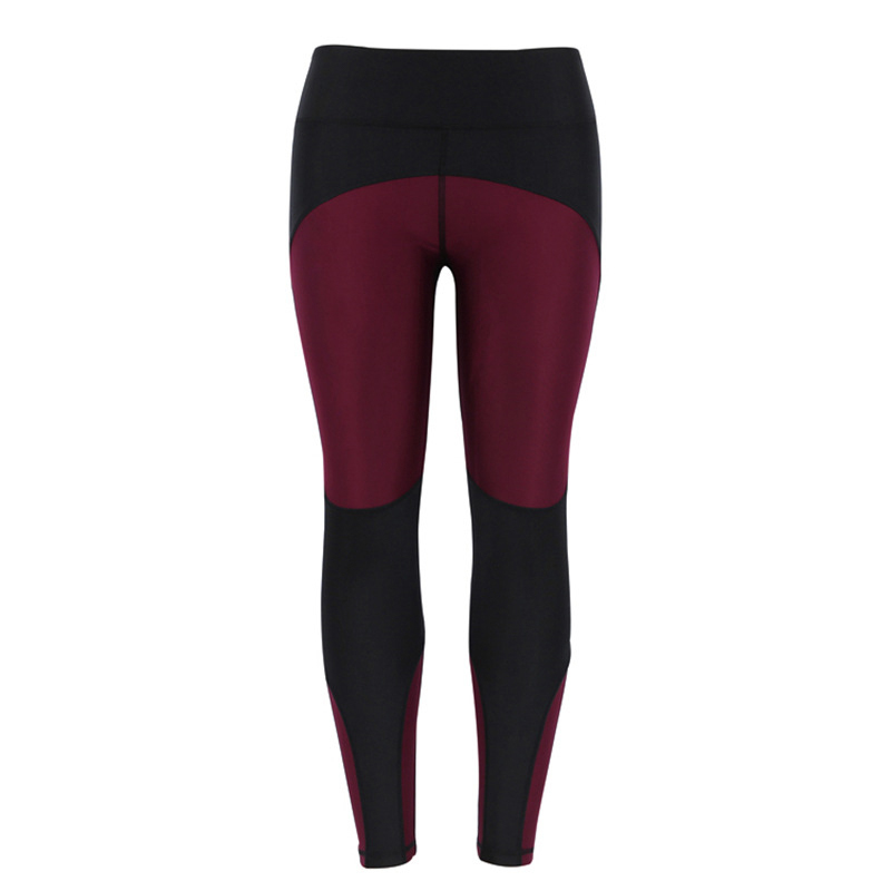 Image 2 - NORMOV Female Legging Women Polyester High Waist Ankle Length Pants Patchwork Push Up Fashion Female Legging Fitness leggins-in Leggings from Women's Clothing
