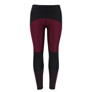 Image 2 - NORMOV Female Legging Women Polyester High Waist Ankle Length Pants Patchwork Push Up Fashion Female Legging Fitness leggins