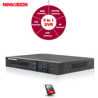 AHD NH 1080N CCTV DVR 8 Channel Hybrid Video Recorder 8CH Digital DVR P2P Cloud Support