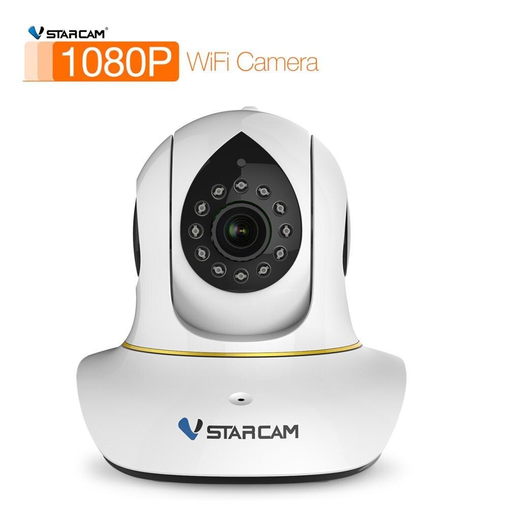 Vstarcam C38S 2.0MP FULL HD Câmera IP Sem Fio 1080P de Segurança CCTV Infravermelho Gravação de Áudio 128G Slot Para Cartão TF webcam interior