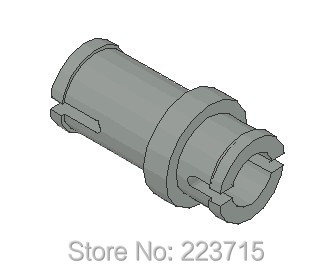 *Techic Pin 3/4* 50pcs  DIY enlighten block brick part No.32002 Compatible With Other Assembles Particles