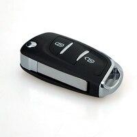 2 Düğmeler Uzaktan Alarm Çevirme Anahtarı Fob 433 MHz Transponder Çip PCF7961 Citroen C2 C3 C4 PICASSO için Yedek Tamir Araba Anahtarı P28