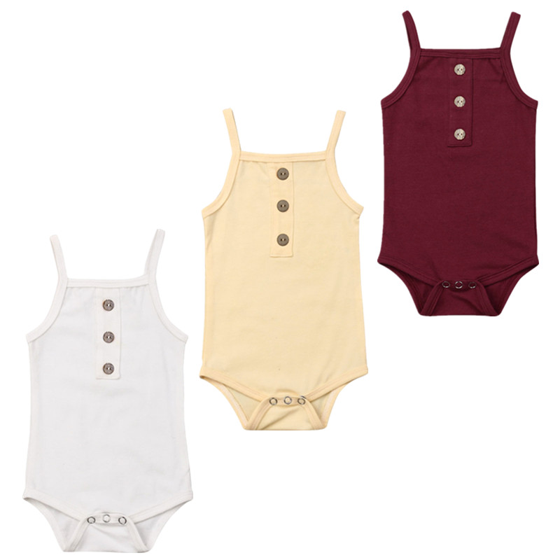 42dc3131f Newborn Kid Baby Girl Boy Summer Clothes Cotton Romper Jumpsuit Sunsuit ~  Free Delivery June 2019