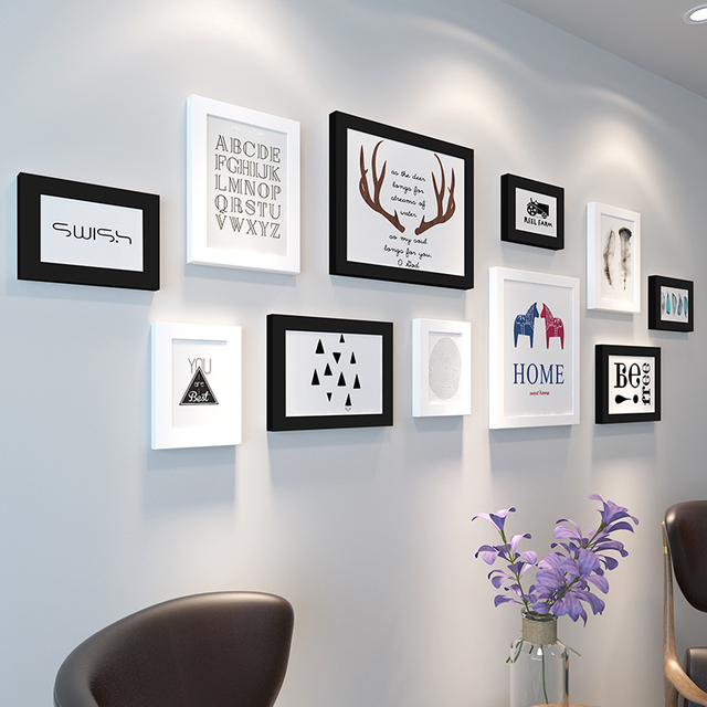 Attractive Hanging Picture Frame Set Inspiration - Frames Ideas ...