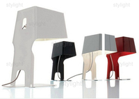 Italian design table lamp creative bookshelf table light novelty design simplistic style bedside living room study office