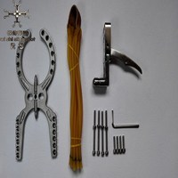 Manual 304 stainless steel Polishing treatment DIY Mechanical slingshot Crossbow Bow and arrow Accessories