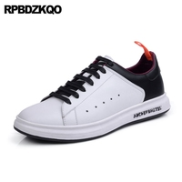 Latest Footwear Fashion Nice Skate Black And White 2017 Comfort Casual Spring New Sneakers Lace Up