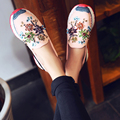 2016 Повседневная Обувь Женщин Квартиры Slip On Zapatos Mujer Горный Хрусталь Sapato Feminino Весна Криперс Мода Sapatilha Горячие Эспадрильи
