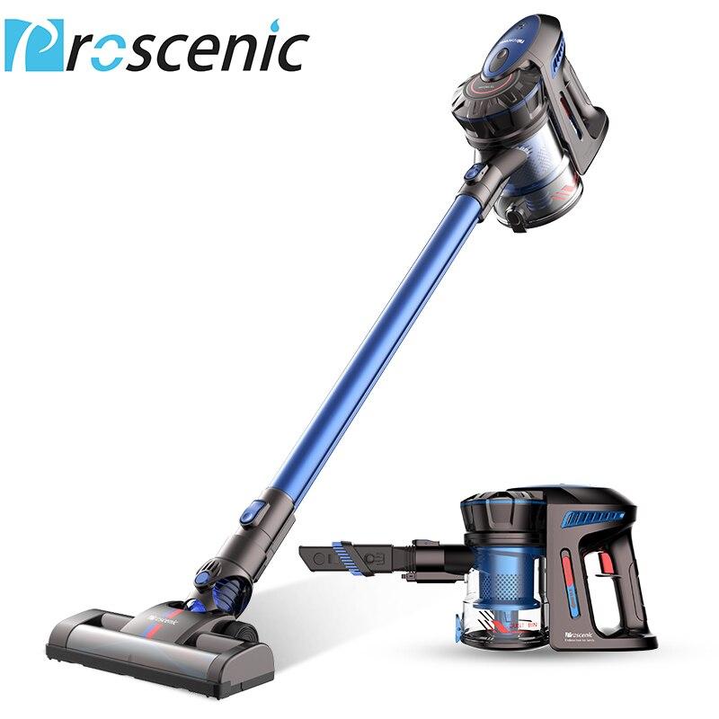 P8 Proscenic Aspirador Sem Fio Leve Grande Sucção Vara Handheld Portátil Vacuum 3 em 1
