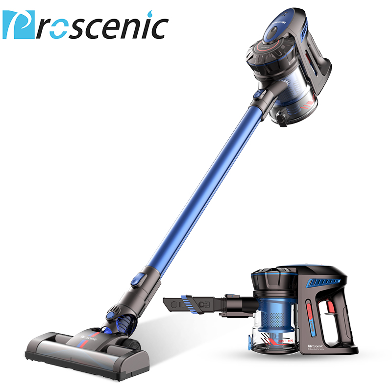 Proscenic P8 Cordless Vacuum Cleaner Lightweight Large Suction Stick Handheld Portable Vacuum 3 in 1 цена и фото