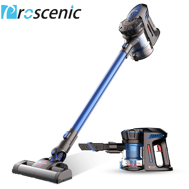 proscenic p8 cordless vacuum cleaner lightweight large suction stick handheld portable vacuum 3. Black Bedroom Furniture Sets. Home Design Ideas
