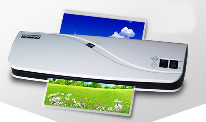 A4 Size Photo Laminator Document Laminating Machine PTC Fast Heat 220V cewaal 2017 cla403l a4 photo laminator paper film document thermal hot