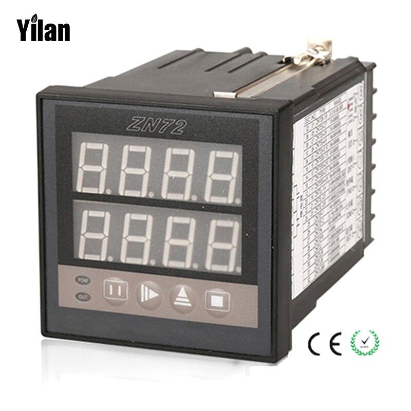 ZN72 1-9999 Panel Mount Count Up Down Digital Counter AC 220V Measurement Instruments ac380v panel mount 8p 1 999900 count range digital counter relay dh48j dpdt
