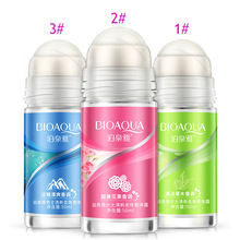 BIOAQUA Ball Body Lotion Antiperspirants Underarm Deodorant Roll on Bottle Women Fragrance Men Smooth Dry Perfumes @ME88