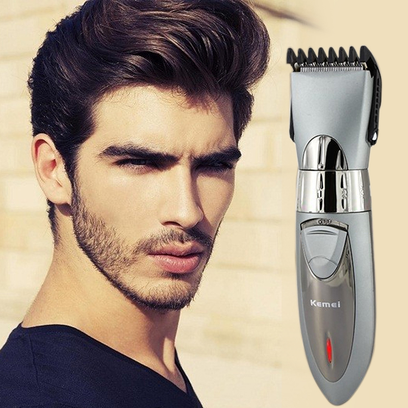 electric washable hair clipper trimer shaver rechargeable. Black Bedroom Furniture Sets. Home Design Ideas