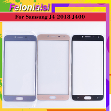 10Pcs/lot For Samsung Galaxy J4 2018 J400 SM-J400F J400F/DS J400G/DS J400G Touch Screen Front Outer Glass panel TouchScreen Lens смартфон samsung galaxy j4 sm j400f gold