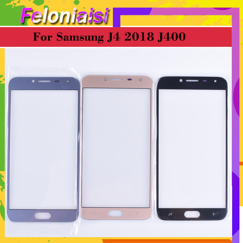 For Samsung Galaxy J4 2018 J400 SM-J400F J400F/DS J400G/DS J400G Touch Screen Front Outer Glass Panel TouchScreen Lens