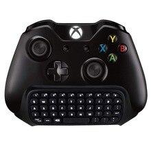 Acessórios do jogo para XBox One/Controlador Sem Fio Chatpad XBox XBox One S One/S 2.4g Receptor Sem Fio teclado para Xbox One/S