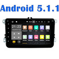 Android 5.1 Автомобилей радио DVD Gps Плеер 2 din универсальный Навигация Для VW/Volkswagen/POLO/PASSAT/Golf/Skoda/Быстрое/Seat Wifi FM/AM